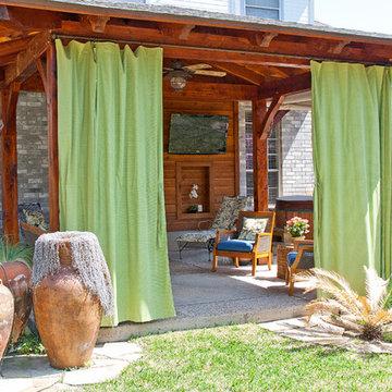 Timber Frame Porch