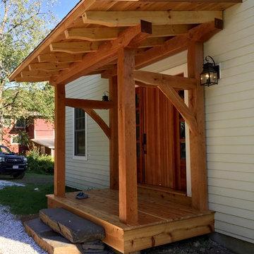 Timber Framed Entry