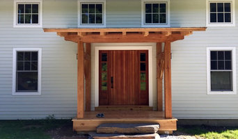 Timber Framed Entry