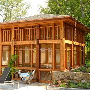 Timber Framed Screen Porch