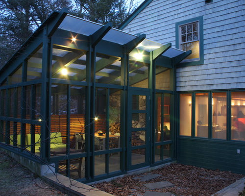 Glass Roof Sunroom Houzz