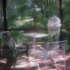 Traditional Porch Time Worn Style ~ Outdoor Australian Wrap Around Verandah
