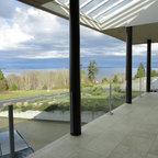 Galvanized Steel Entry Gate Modern Porch Seattle