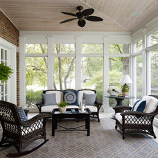Traditional Porch by Morgante Wilson Architects