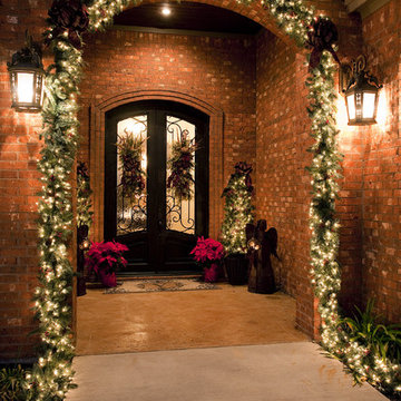 Traditional Front Porch Christmas
