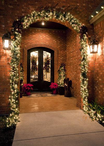 American Traditional Veranda by Dawn Hearn Interior Design