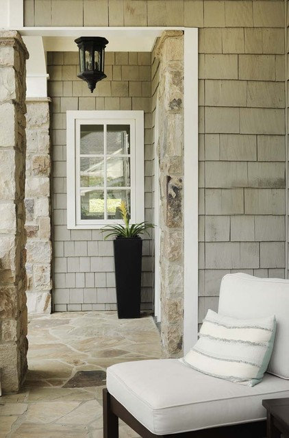 Traditional Porch by Clark & Zook Architects, LLC