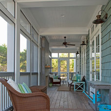 traditional porch by Geoff Chick & Associates