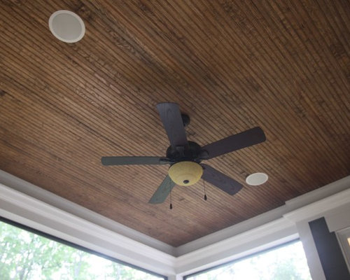 Stained Beadboard Ceiling Houzz