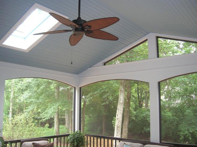 Сделать потолок в веранде