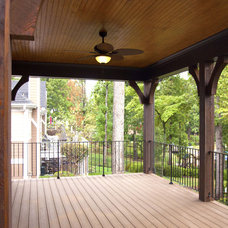 Traditional Porch by Grainda Builders, Inc.