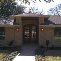 traditional porch by ICF Custom Homes