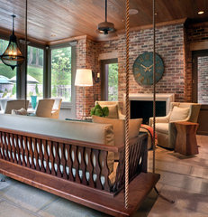 traditional porch by Jason Arnold Interiors | Nashville, Tennessee