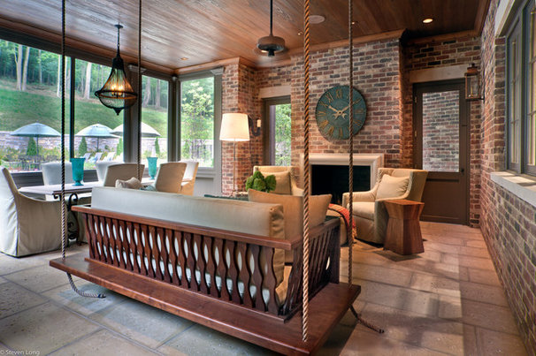 Traditional Porch by Jason Arnold Interiors