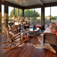 Traditional Porch by Mary McGaughy Interiors