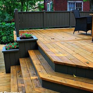 Classic porch idea in Montreal