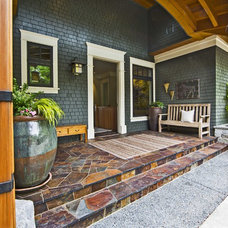 Traditional Porch by Shuler Architecture