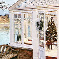 Traditional Porch by Stephen R. Holt Architects