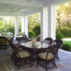 Traditional Porch by Zobrist Design Group Inc.