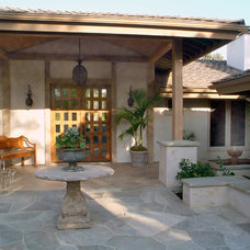 Traditional Porch by Hamilton-Gray Design, Inc.