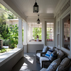 traditional porch by FGY Architects