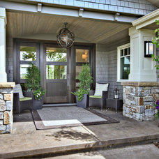 Contemporary Porch by Rockwood Custom Homes
