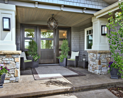 Veranda Design Ideas, Renovations & Photos with Concrete Slabs