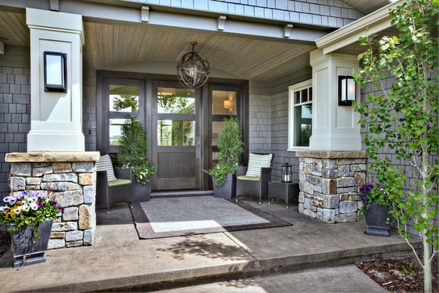 Traditional Porch by Rockwood Custom Homes