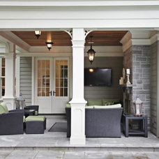 Traditional Porch by Foremost Construction Inc