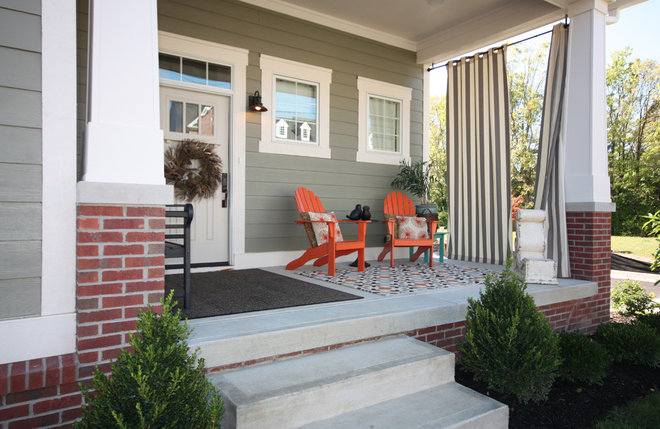 Craftsman Porch by Everything Home