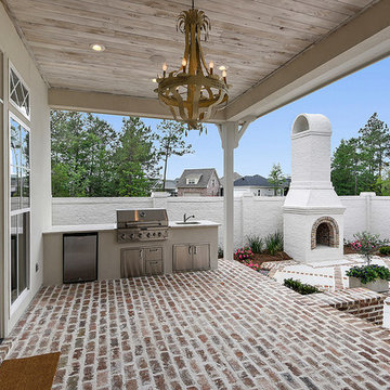 Transitional Porch