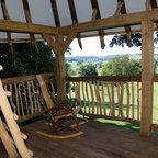 Tree House Tropical Porch Philadelphia By Hugh