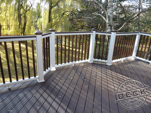 Traditional Porch by Your Deck Company