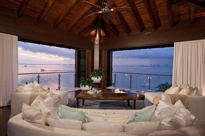 Tropical Porch by B Pila Design Studio