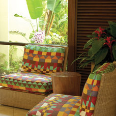 Tropical Porch by Philpotts Interiors
