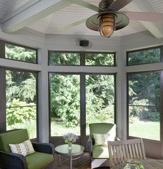 traditional porch by LDa Architecture & Interiors