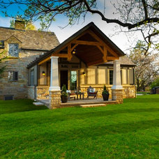 Traditional Porch by R L S Associates Architects