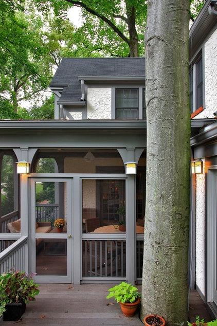 Traditional Porch by Gilday Renovations Design Build