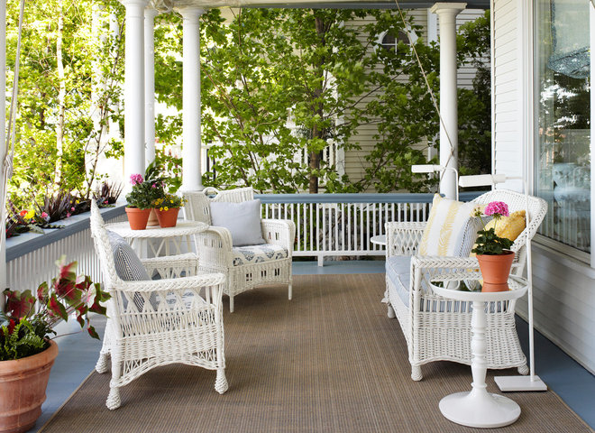 Victorian Porch by Tom Stringer Design Partners