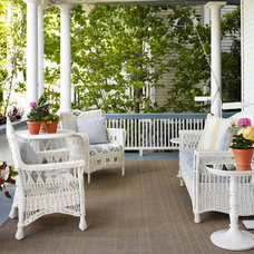 Beach Style Porch by Tom Stringer Design Partners