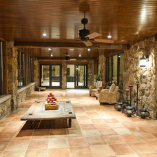 Traditional Porch by Gander Builders