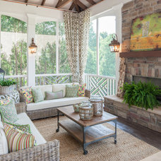 Contemporary Porch by The Porch Company