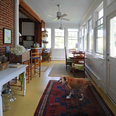 Eclectic Porch by Judy Coutts, AIA Architect