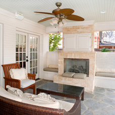 Traditional Porch by Durrett Homes