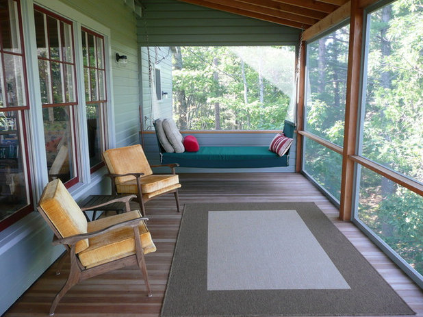 Traditional Porch by Peter A. King Design