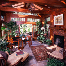 Traditional Porch by Vujovich Design Build, Inc.