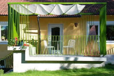 Contemporary Veranda by GRAD arkitekter