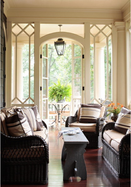 Traditional Porch by Liz Williams Interiors