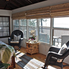 Traditional Porch by Ally Whalen Design