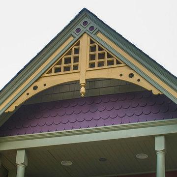 Victorian 2-Story Front Porch Addition (Restoration) in Denver Historic District